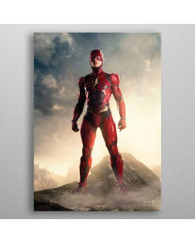 Метален постер Displate - DC Comics: The Flash - 3