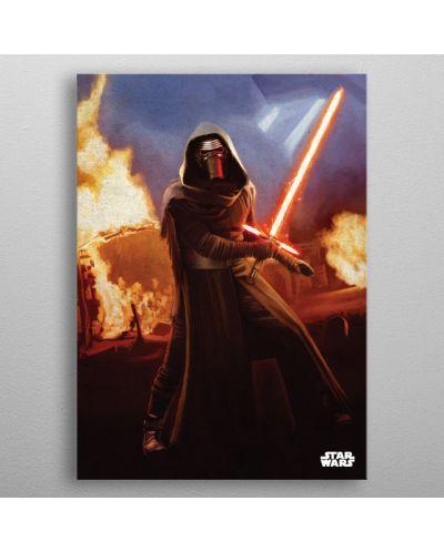 Метален постер Displate - Star Wars: Leader of the Knights - 3