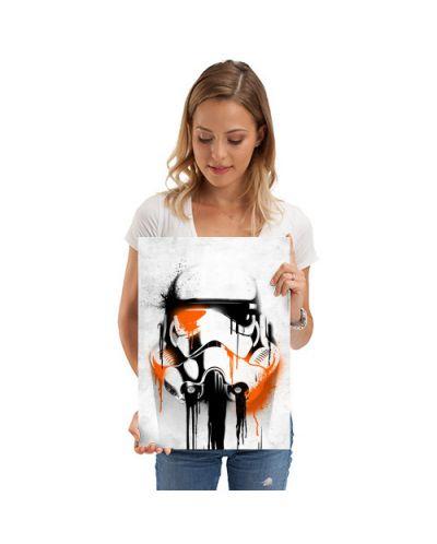 Метален постер Displate - Star Wars: Banksy - 2