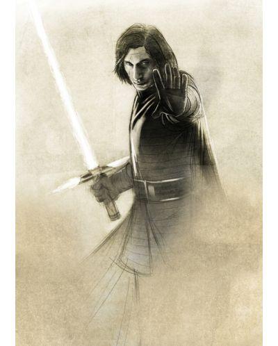 Метален постер Displate - Star Wars: Kylo Ren - 1
