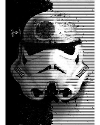 Метален постер Displate - Star Wars: Startrooper - 1