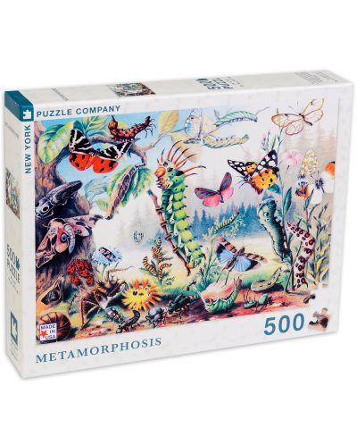 Пъзел New York Puzzle от 500 части - Метаморфоза - 2