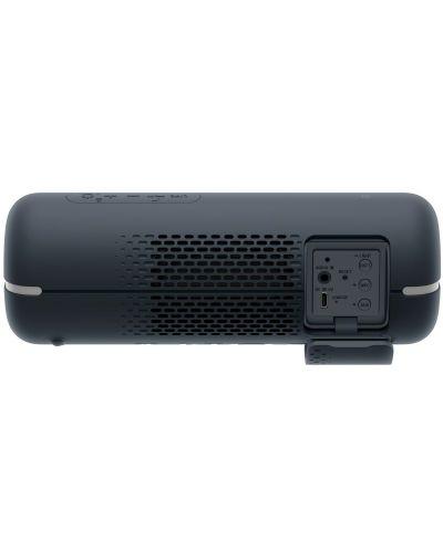 Мини колонка Sony SRS - XB22, черна - 5