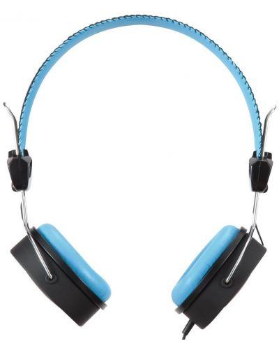 Слушалки Microlab K300 - черни/сини - 3