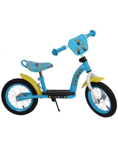 Метално колело за баланс E&L Cycles - Миньоните, 12 инча - 1