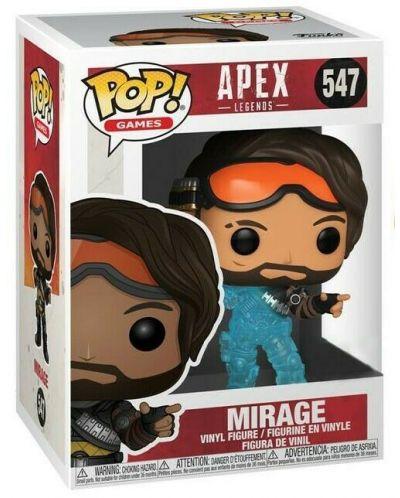 Фигура Funko POP! Games: Apex Legends - Mirage (Translucent) #547 - 2