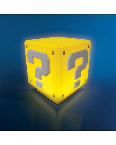 Мини лампа Paladone Nintendo Super Mario - Question Block - 3