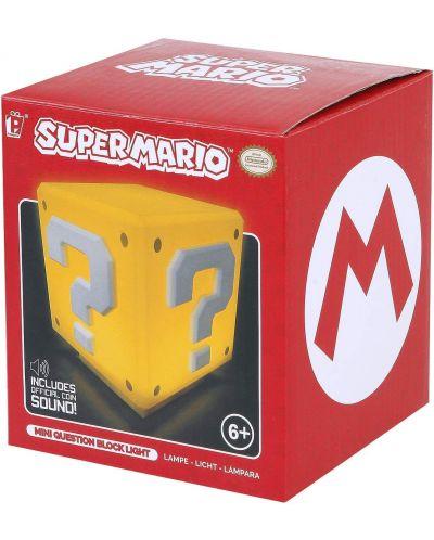 Мини лампа Paladone Nintendo Super Mario - Question Block - 4