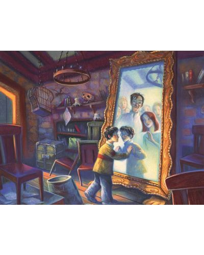 Пъзел New York Puzzle от 1000 части - Mirror of Erised - 1