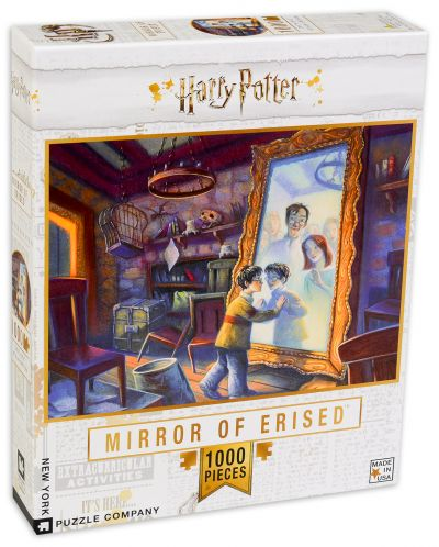 Пъзел New York Puzzle от 1000 части - Mirror of Erised - 2