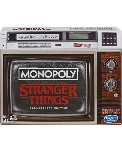 Настолна игра Hasbro Monopoly - Stranger Things Collectors Edition - 4