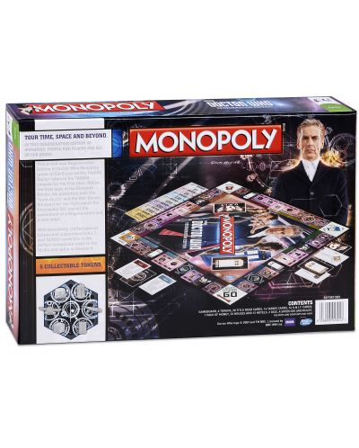 Настолна игра Monopoly - Doctor Who Regenerattion Edition - 2