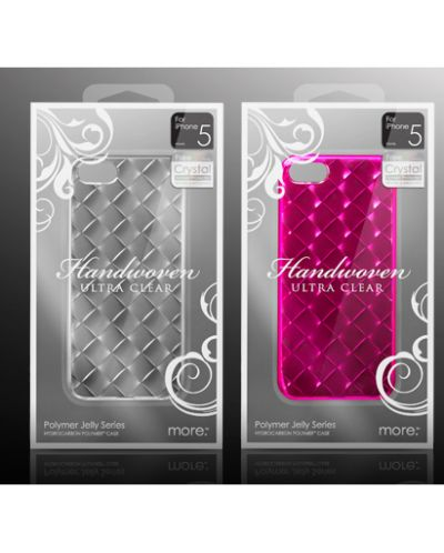 More-Thing Handwoven Series за iPhone 5 - прозрачен - 2