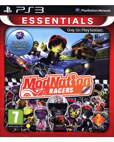 Modnation Racers - Essentials (PS3) - 1