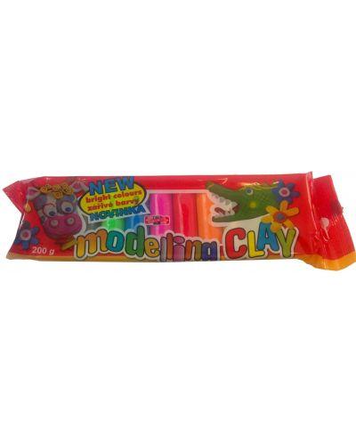 Пластилин 10 цвята KOH-I-NOOR - 1
