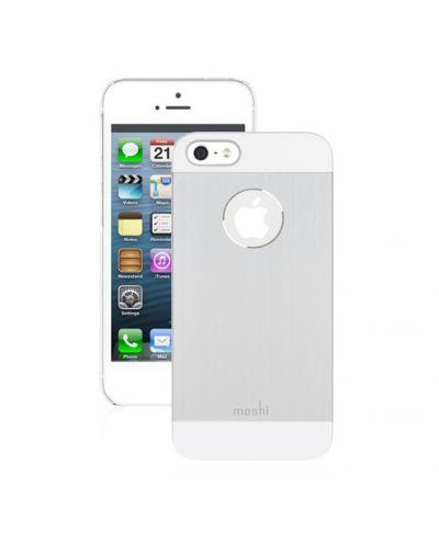 Moshi iGlaze Armour за iPhone 5 -  сребрист - 1