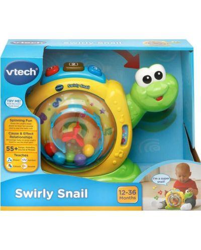 Детска играчка Vtech - Охлювче, музикално - 2