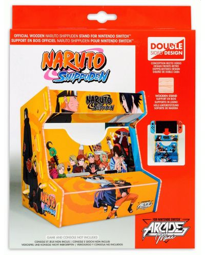 Стойка за конзола Microids Arcade Mini Naruto (Switch) - 1