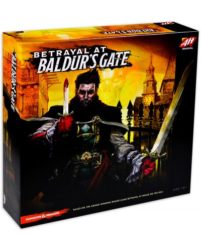 Настолна игра Betrayal at Baldur's Gate - 1
