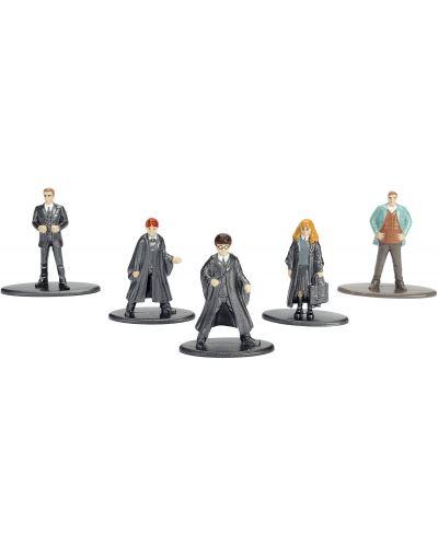 Комплект фигури Nano Metalfigs Harry Potter - 5 броя - 2