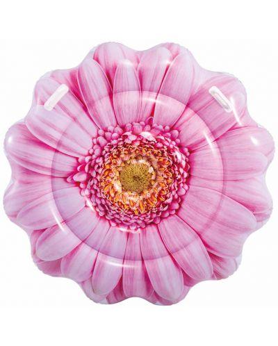 Надуваем дюшек Intex - Розов гербер, 142 cm - 2