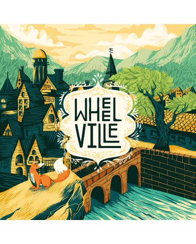 Настолна игра WWF - WheelVille - 3