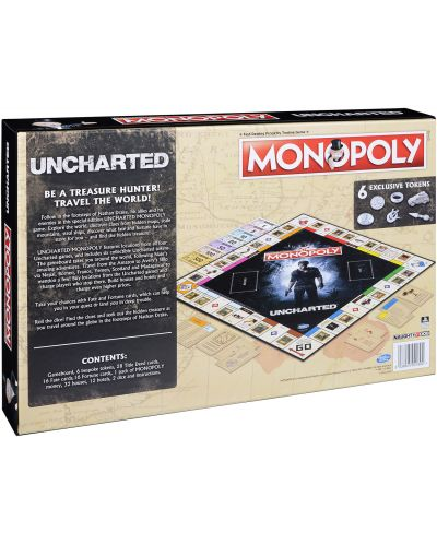 Настолна игра Monopoly - Uncharted - 1