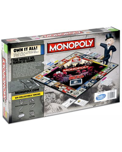 Настолна игра Monopoly - The Walking Dead Edition - 2