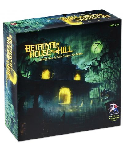 Настолна игра Betrayal at House on the Hill (2nd Edition) - 1