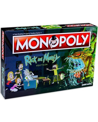 Настолна игра Monopoly -Rick and Morty Edition - 5