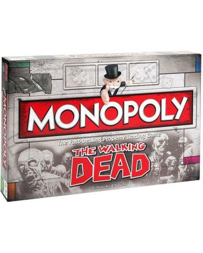 Настолна игра Monopoly - The Walking Dead Edition - 1