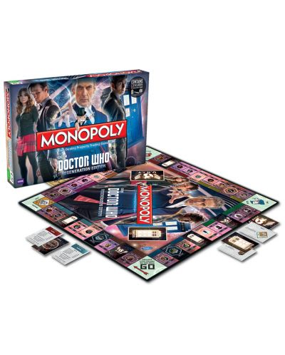 Настолна игра Monopoly - Doctor Who Regenerattion Edition - 4