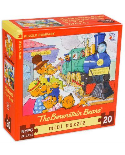 Мини пъзел New York Puzzle от 20 части - Всички на борда - 1