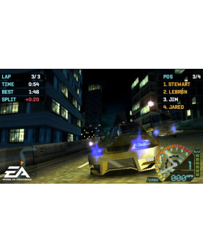 Need For Speed Underground : Rivals - Platinum (PSP) - 5