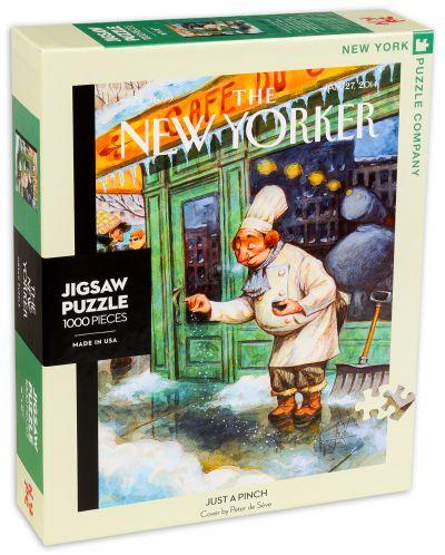 Пъзел New York Puzzle от 1000 части - Просто щипка - 2