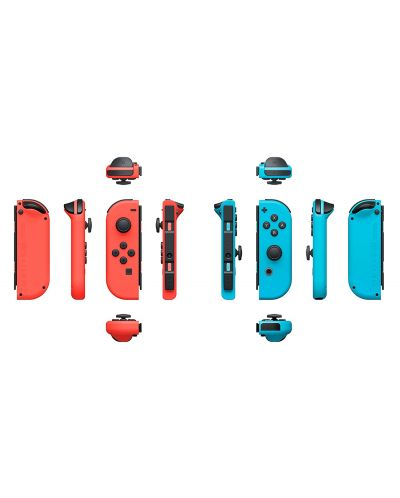 Nintendo Switch Joy-Con (комплект контролери) синьо/червено - 2