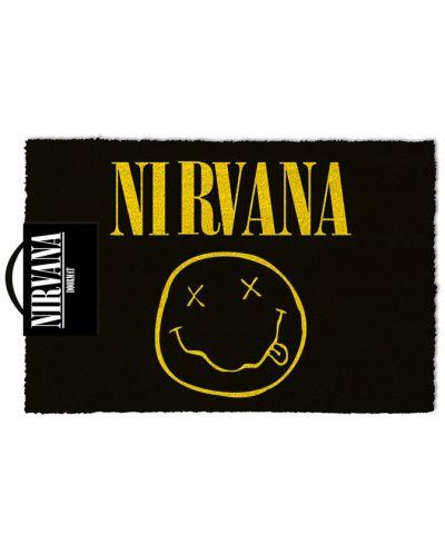 Изтривалка за врата Pyramid - Nirvana (Smiley), 60 x 40 cm - 1