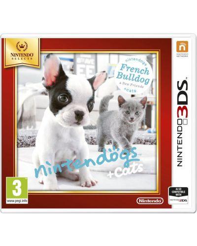 Nintendogs + Cats - French Bulldog (3DS) - 1