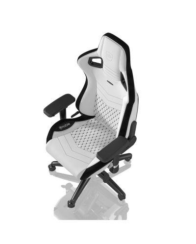 Гейминг стол noblechairs EPIC - бял/черен - 4