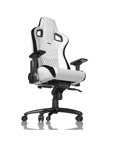 Гейминг стол noblechairs EPIC - бял/черен - 3