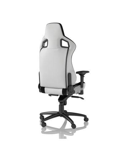 Гейминг стол noblechairs EPIC - бял/черен - 5