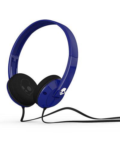 Слушалки с микрофон Skullcandy Uprock - сини - 1