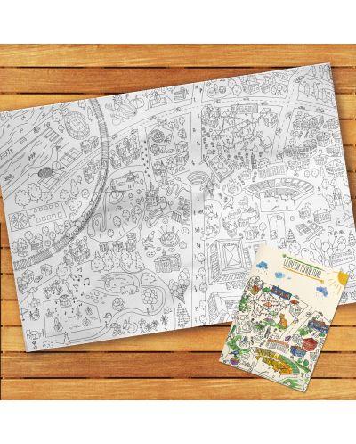 Оцвети Пловдив (детска карта със забележителности) - 2