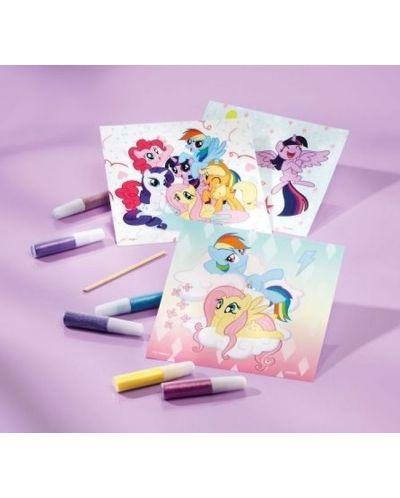 Творчески комплект Totum My Little Pony - Оцвети сам картинките - 3