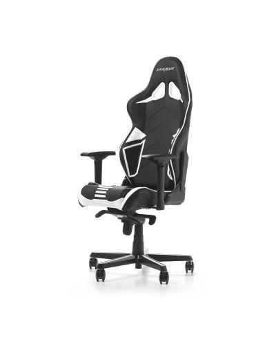Гейминг стол DXRacer OH/RV131/NW - серия RACING V2, черен/бял - 8