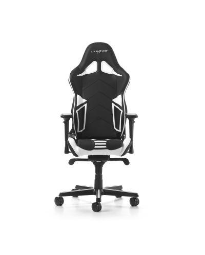 Гейминг стол DXRacer OH/RV131/NW - серия RACING V2, черен/бял - 6