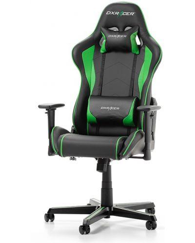 Геймърски стол DXRacer - серия FORMULA, черен/зелен - OH/FH08/NE - 1