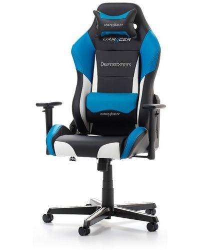 Геймърски стол DXRacer - серия DRIFTING, черен/бял/син - OH/DM61/NWB - 1