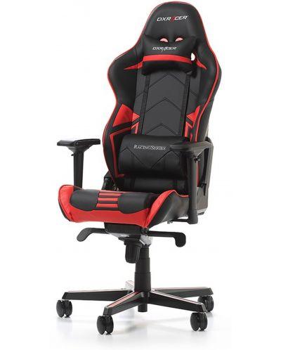 Гейминг стол DXRacer OH/RV131/NR - серия RACING V2, черен/червен - 1