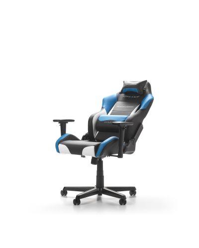 Геймърски стол DXRacer - серия DRIFTING, черен/бял/син - OH/DM61/NWB - 4